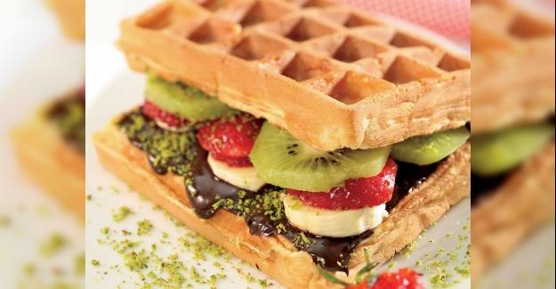 Evde Waffle Yapılışı ve Tarifi