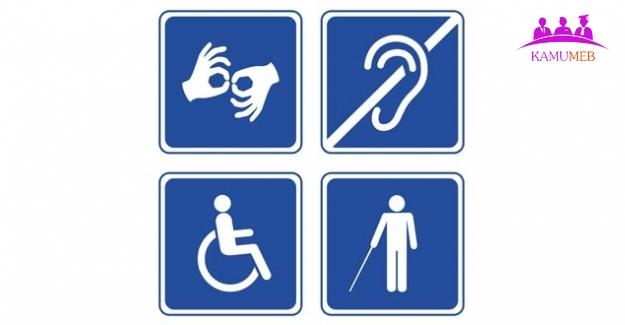 100 Günlük Eylem Programında Engellileri İlgilendiren Bölüm