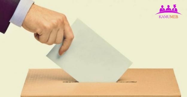 2019 Yerel Seçim Tarihi Belli Oldu
