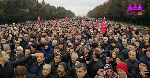 Emeklilikte Yaşa Takılanlar Ankara'da Toplandı
