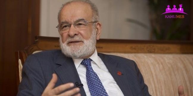 Temel Karamollaoğlu'ndan EYT Çıkışı