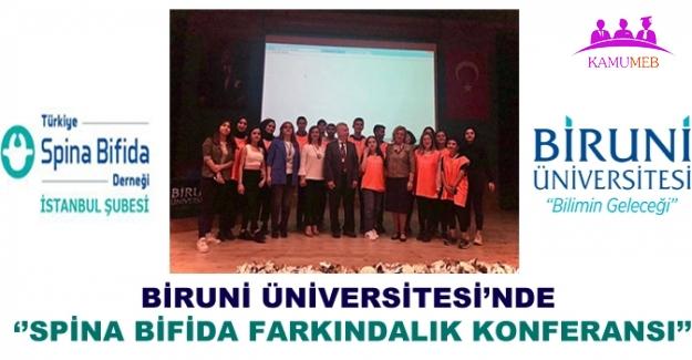 Biruni Üniversitesi'nde ''Spina Bifida Farkındalık Konferansı''