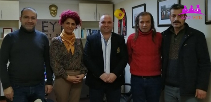Çanakçı'dan EYT'ye Ziyaret