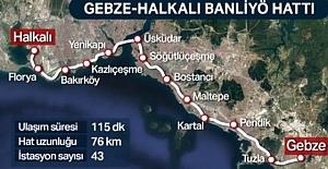 Halkalı Gebze Marmaray / Banliyo...