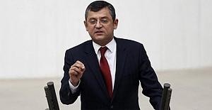 CHP Grup Başkanvekili Özgür Özel...