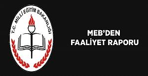 MEB 2017 Yılı İdare Faaliyet Raporu