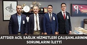 ATTDER'den Prof.Dr. Ahmet Selim Yurdakul' Önemli Ziyaret