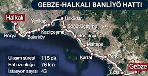 Halkalı – Gebze Marmaray / Banliyo Tren Durakları, Ücretleri, Sefer Saatleri