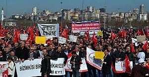 1 Mayıs'ta EYT'liler Taleplerini Dile Getirdi