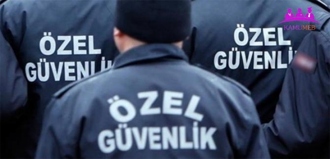 2019 Yılı Özel Güvenlik Sınav Takvimi