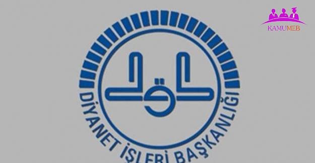 Diyanet 4-B Sözleşmeli Personel (Sözper-2020) Alacak