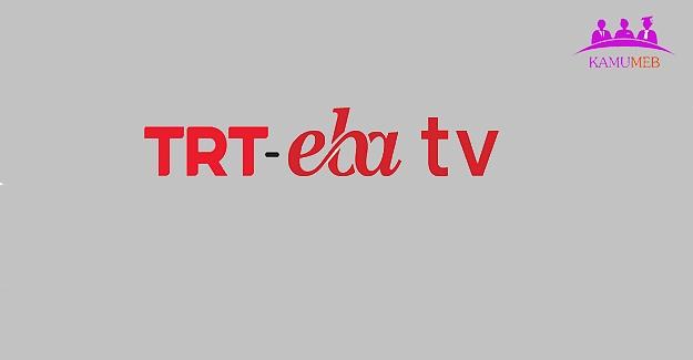 TRT EBA TV Hazırlık Dönemi Yayınları (31 Ağustos-21 Eylül 2020)