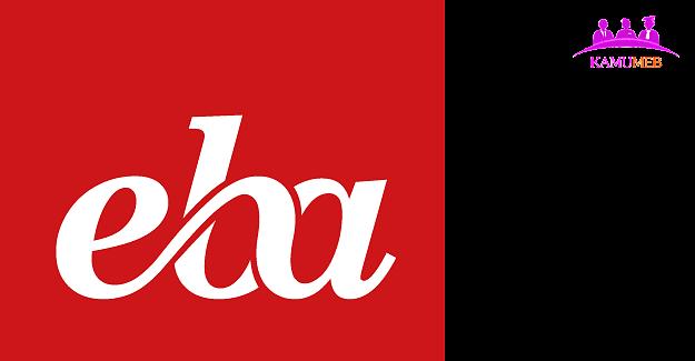 EBA TV Lise (12-16 Ekim 2020) Yayın Akışı