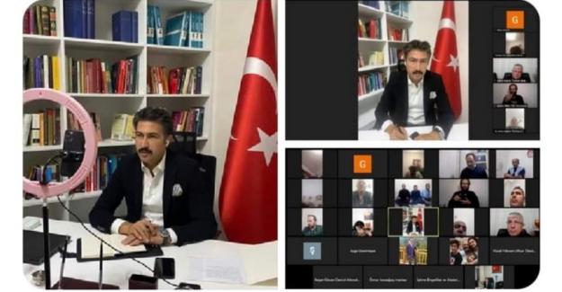 AK Partili Cahit Özkan İle STK'lar Toplantıda Buluştu