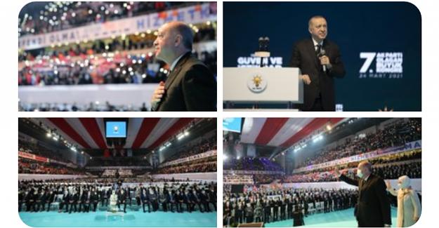 AK Parti 7. Olağan Kongresi'nde Cumhurbaşkanı Erdoğan'ın Öne Çıkan Açıklamaları