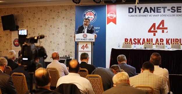 Diyanet-Sen 44. Başkanlar Kurulu Toplantısı Sonuç Bildirgesi