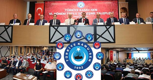 Türkiye Kamu-Sen 6. Dönem Toplu Sözleşme Teklifleri
