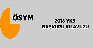 2018 YKS Başvuru Kılavuzu