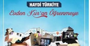 Haydi Türkiye Evden Kur'an Öğrenmeye
