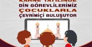 Cami Görevlileri Çocuklarla Çevrimiçi Buluşuyor Projesi Duyurusu