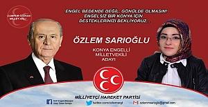 Özlem Sarıoğlu Milletvekili Adayı Oldu