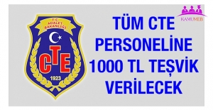 CTE Personeline 1000 TL KoronaVirüs Teşviki Verilecek