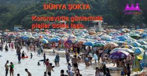 Koronavirüs Günlerinde Plajlar Doldu Taştı