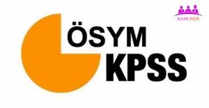 KPSS Başvuru Tarihi Açıklandı