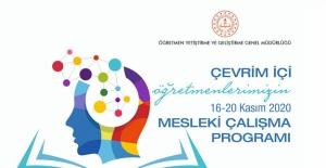 Mesleki Çalışma Programı (16-20 Kasım 2020)