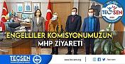 TEÇ-SEN Genel Merkezi/TEÇ-SEN Engelliler Komisyonu'dan MHP'ye Önemli Ziyaret